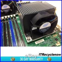 Supermicro X8DAH+-F Motherboard Dual LGA1366 IOH-36D 7x PCI-E HD Audio 18x DDR3