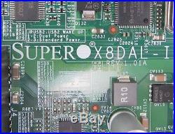 Supermicro X8DAL-I REV 1.01A Motherboard + 2x Xeon E5520 2.27GHz CPU + HSF I/O