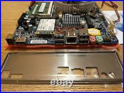 Thin Mini ITX 1150 Motherboard, Intel Dual Core CPU, mSata SSD, 8GB RAM, 90w PSU