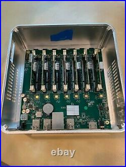 Turing Pi, Raspberry Pi Cluster with compute modules and 16 GB SD cards