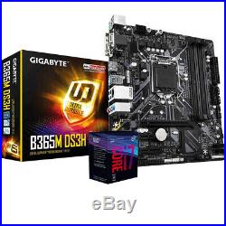 Upgrade Scheda Madre B365M + i7 9700 4.70Ghz + Ram 8Gb DDR4 Kit Pc Desktop