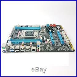 X79 ATX motherboard+E5 2650 +DDR3 ECC/REG 8gX4=32G LGA2011 best combination