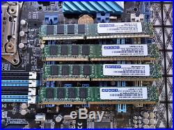 X79 Combo Intel I7-4930K + Asus P9X79 LE + Avant 8gb (4x2gb) DDR3 1333