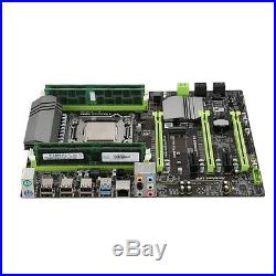 X79 Motherboard LGA2011 Combo with E5 2620 CPU 4-Ch 16GB(4X4GB)DDR3 RAM 13 O5R7