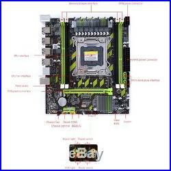X79 X79G Motherboard Set with LGA2011 Combos Xeon E5 2620 CPU 2Pcsx4GB = 8 K6N8
