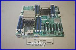 X9DRD-7LN4F-JBOD Supermicro Dual LGA-2011 E-ATX Server Motherboard + Heatsinks