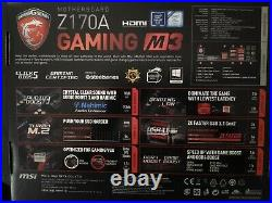 Z170A Gaming M3 Combo with Intel I7 processor and 16GB DDR4 memory
